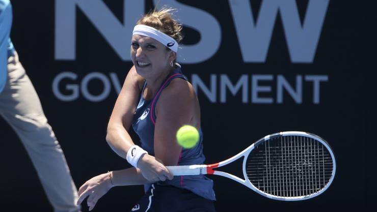 Timea Bacsinszky kämpfte sich in Sydney in den Viertelfinal
