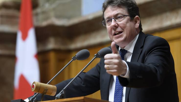 Albert Rösti wird SVP-Präsident bleiben, bis die Corona-Krise vorbei ist.