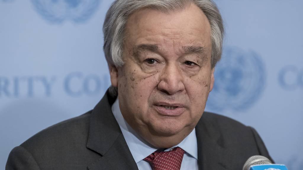 UN-Chef Guterres warnt vor schlimmster Hungersnot «seit Jahrzehnten»