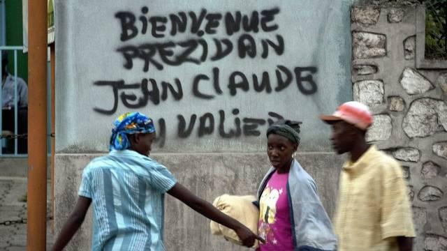Nicht alle Haitianer sind gegen eine Rückkehr Duvaliers an die Macht