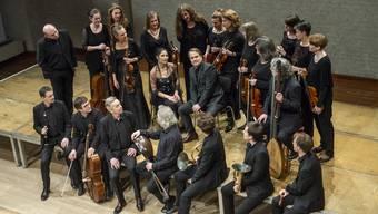 Die Lautten Compagney mit Wolfgang Katschner und Vivica Genaux, Mezzosopranistin (beide im Bildzentrum) sind bereit für «Gender Stories».