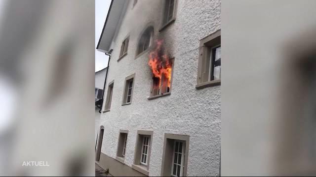 Brand Bad Zurzach: Bewohner stehen vor dem Nichts