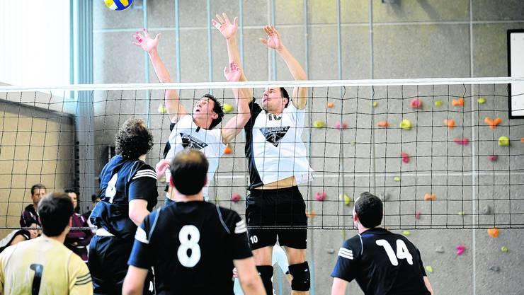 Volleyballclub: Der VBC zahlt viel Geld für die Hallenmiete. (archiv/ul)