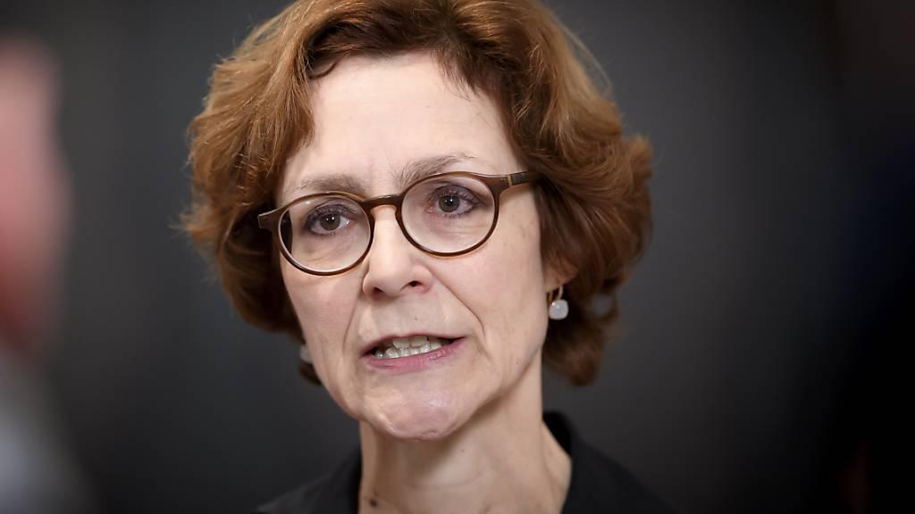 Monika Rühl, Vorsitzende der Geschäftsleitung des Wirtschaftsdachverbandes Economiesuisse, tritt zusammen mit zahlreichen bürgerlichen Politikern gegen die 99%-Initiative der Jusos an. (Archivbild)