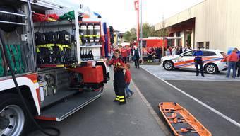 Eröffnung «FeuerWerk» Waltenschwil.