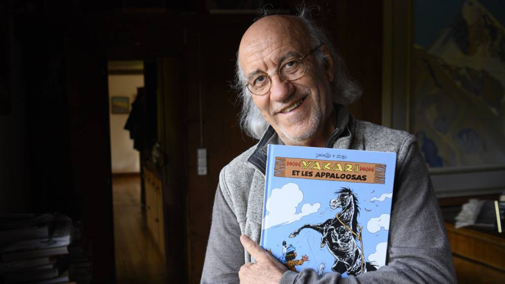 Comiczeichner Derib ist zufrieden mit dem Kino-Yakari