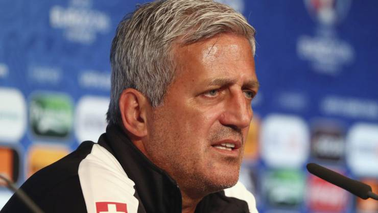 Vor dem zweiten Gruppenspiel gelassen, aber fordernd: der Schweizer Nationaltrainer Vladimir Petkovic