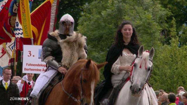 Grosses Volksfest  zum 700 Jahrestag der Schlacht zu Morgarten