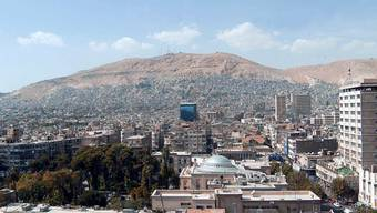 Die von den Explosionen betroffene Luftwaffenbasis befindet sich in der Nähe der syrischen Hauptstadt Damaskus. (Archivbild)