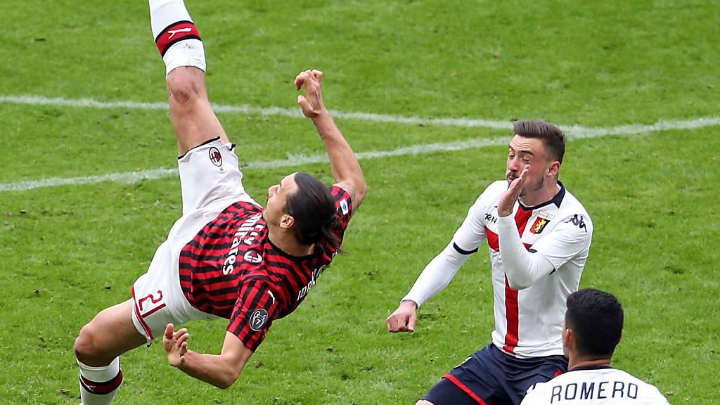 Vor leeren Rängen: Juventus siegt im Spitzenspiel