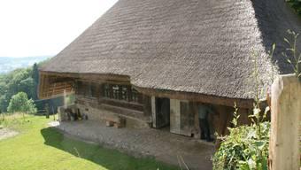 Strohdachhaus von Leimbach