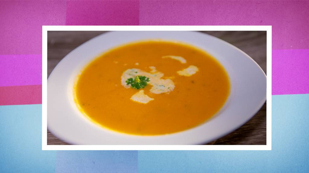 Kürbiscrème-Suppe