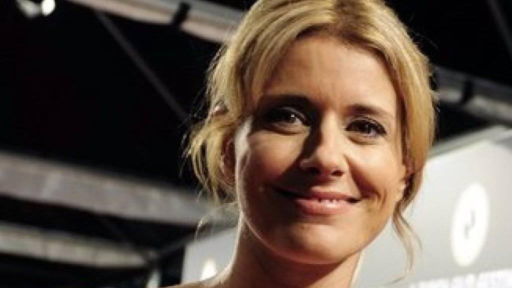 Sabina Schneebeli im Glück: Nach ihrer standesamtlichen Heirat mit Unternehmer Paul Kurath steigt am kommenden Wochenenden die grosse Hochzeitsfeier. (Archiv)