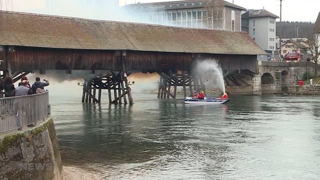 Brückenbrand Olten: Schuld war ein Raucher