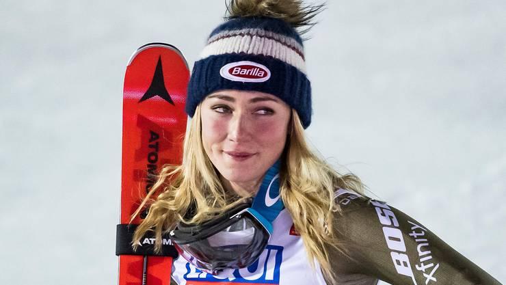 Es gibt viel mehr als Skifahren: Mikaela Shiffrin.