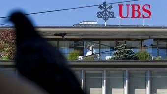 UBS-Logo am Paradeplatz in Zürich (Archiv)