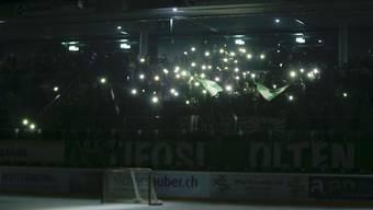 Stromausfall während Match EHC Olten gegen SC Langenthal