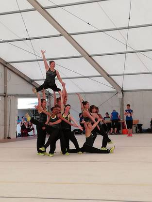 Team Aerobic Turnfest Remigen.