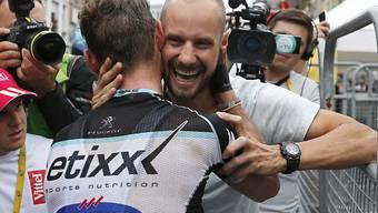 Tom Boonen darf sich wieder einmal über einen Erfolg in der World Tour freuen