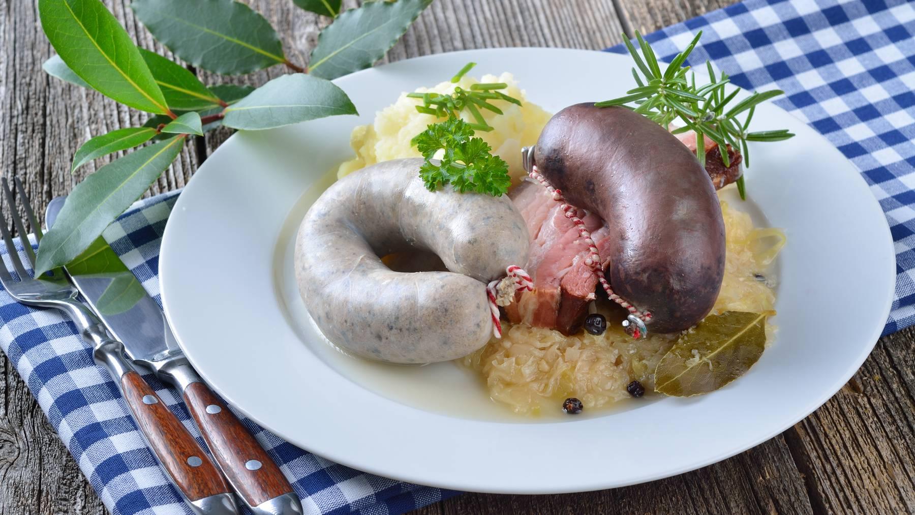 Metzgete-Teller