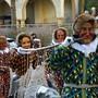 Mit der Salmanladung am dritten Faissen wird die Laufenburger Städtlefasnacht jeweils eröffnet.