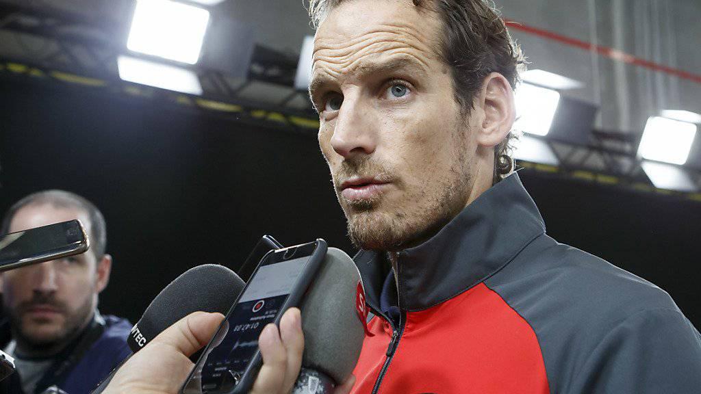 """Patrick Fischer fordert gegen Frankreich von seiner Mannschaft eine disziplinierte Leistung. """"Dann werden wir auch gewinnen"""", so der Eishockey-Nationaltrainer"""