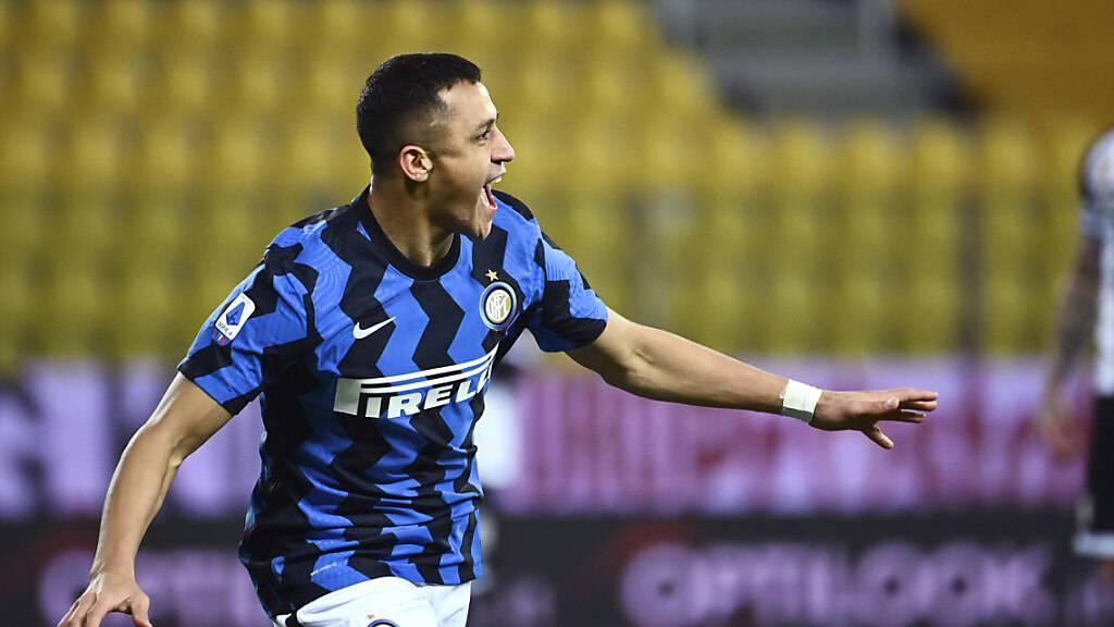 Alexis Sanchez erlebt in Parma eine Sternstunde im Dress von Inter