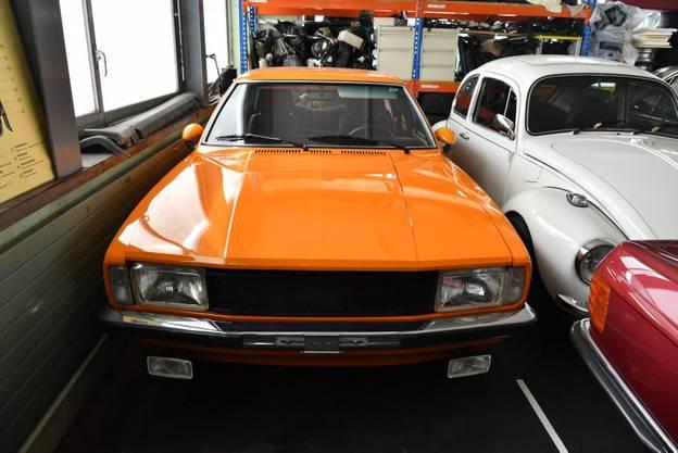 Das erste Auto von Matthias Schär, ein Ford