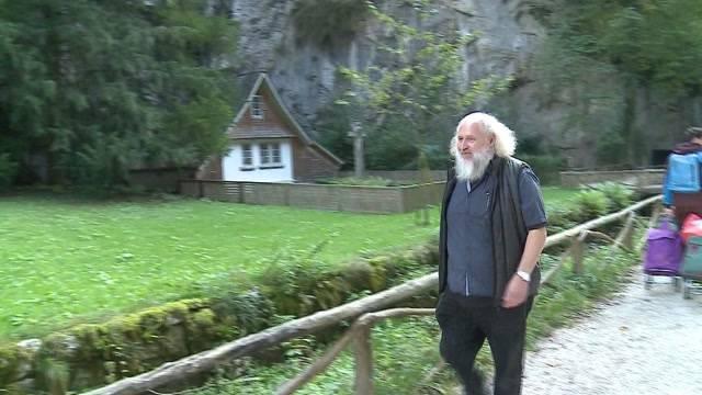 Neuer Einsiedler in Verenaschlucht angekommen