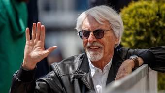 Bernie Ecclestone am Grand Prix in Aserbaidschan im April 2019.
