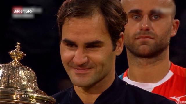 Roger Federer triumphiert