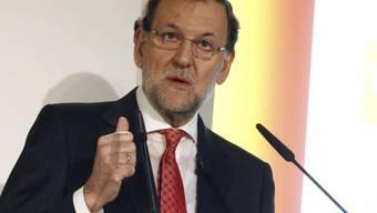 Der spanische Regierungschef Mariano Rajoy