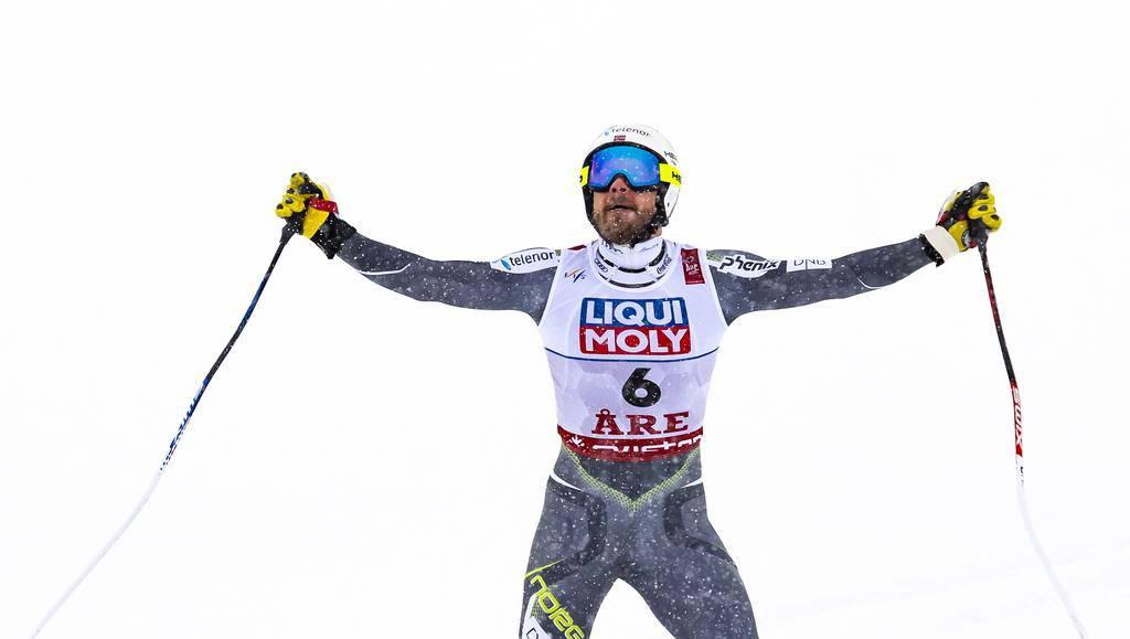 Gold geht nach Norwegen: Kjetl Jansrud gewinnt die Goldmedaille.