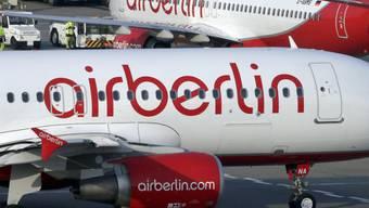 Air Berlin-Maschinen am Flughafen Tegel (Archiv)