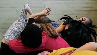 Dieses Jahr mit Maske und ohne Körperkontakt: «Wir sind viele» der Choreografin Rebecca Weingartner.