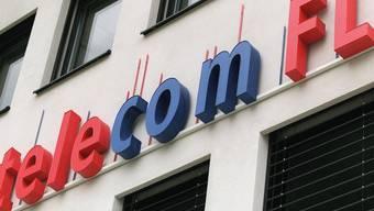 Firmenlogo der Liechtensteinischen Telecom in Vaduz (Archiv)
