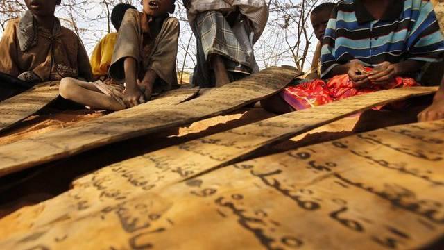 Kinder aus Somalia in einem kenianischen Flüchtlingslager (Archiv)