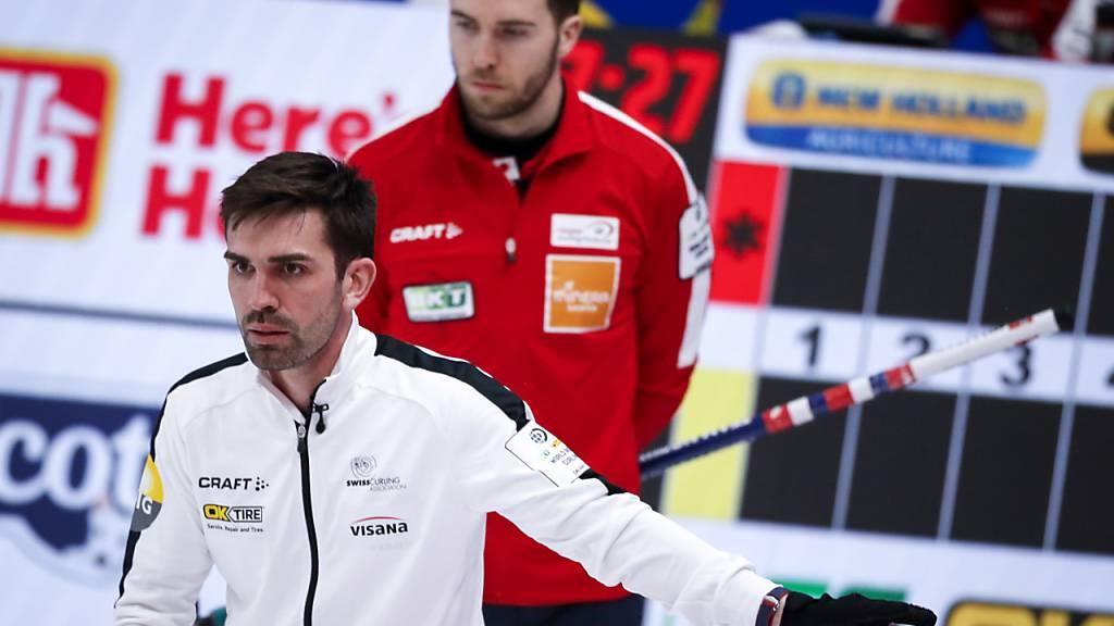 Schweizer Curler mit zwei Niederlagen in Folge