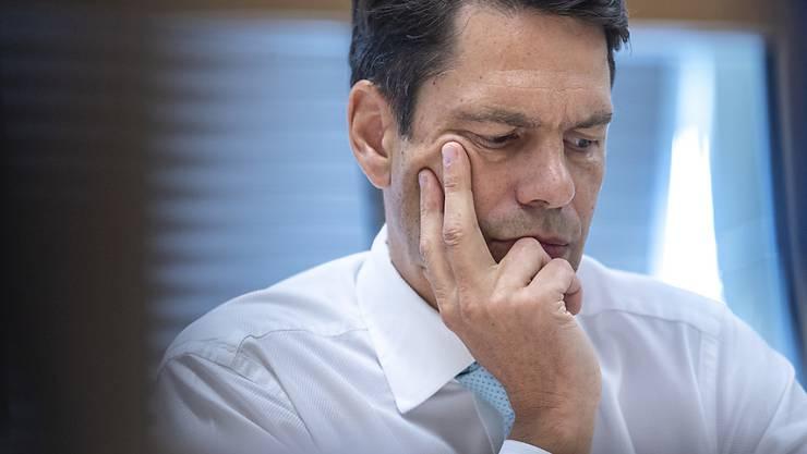 Der heutige Swissmem-Direktor Stefan Brupbacher ist im Visier der Justiz. Es geht um eine mögliche Amtsgeheimnisverletzung zu seiner Zeit als Bundesangestellter. (Archivbild)