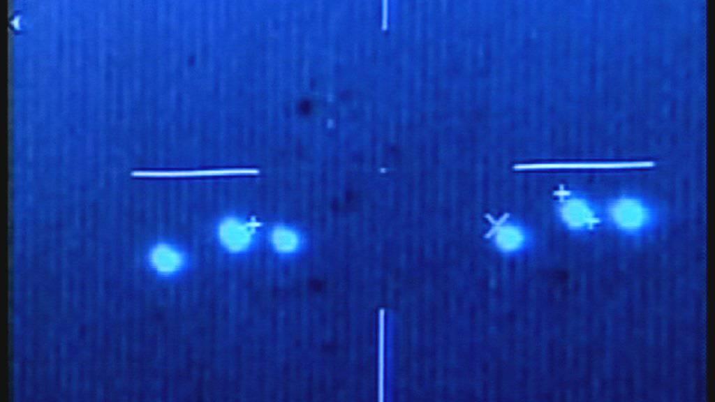 Sind das UFOs? Das Pentagon hatte jahrlang ein Programm, welches Berichten nach UFOs nachging. (Archiv)