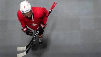 Training der Schweizer Eishockey-Nationalmannschaft