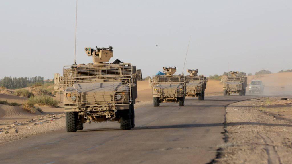 Die Golfstaaten verschieben Militärfahrzeuge an die Kriegsfront im südjemenitischen Marib: Immer mehr ausländische Truppen kämpfen im Jemen.