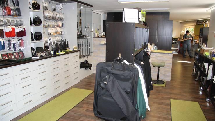 Der einzige Laden in der Schweiz in dem Dudelsäcke verkauft werden