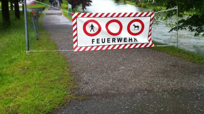 Im Hochwasserschutz fehlen jährlich 27 Millionen Franken