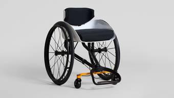 Mit seinem Rollstuhl hat Reto Togni einen Design-Preis gewonnen.