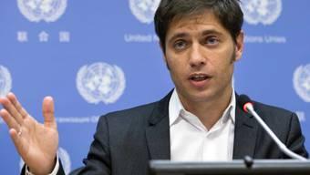 "Aussenminister Kicillof  kritisiert ""Erpressung""(Archiv)"