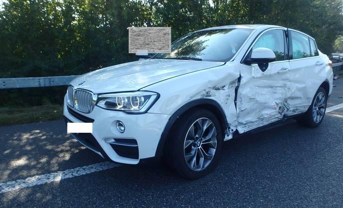 Personen wurden beim Unfall nicht verletzt.