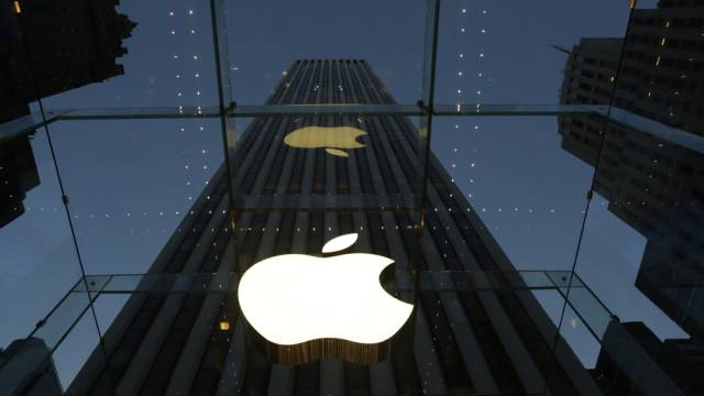Apple-Bäume wachsen in den Himmel: Store in New York (Archiv)