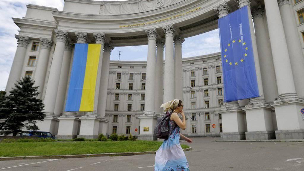 Die Ukraine erhält durch das Partnerschaftsabkommen mit der EU keine konkrete Perspektive auf einen EU-Beitritt. (Symbolbild)