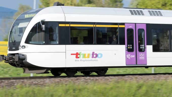 Die Regionalbahn Thurbo fährt nur noch bis Koblenz. Die Strecke nach Waldshut wird nicht mehr bedient.